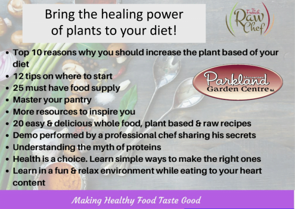Bring the healing power of plants to your diet! 1